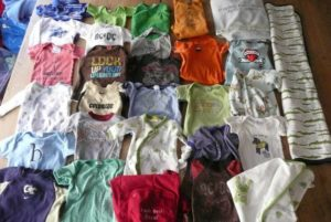 Des textiles de petite enfance, pour le plaid de Brayden