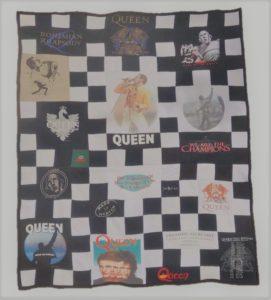 Plaid personnalisé Queen et Freddy Mercury