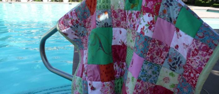 Le plaid personnalisé de Sienna, plein de couleurs
