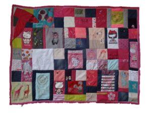 La patchwork magnifique de Solenne, très personnalisé
