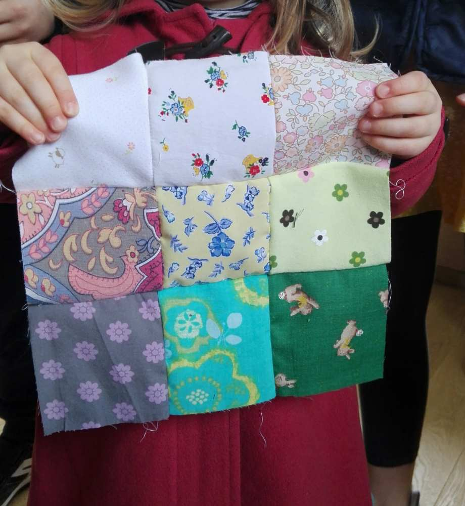 Pour son premier patchwork, pourquoi pas choisir pleins de motifs?