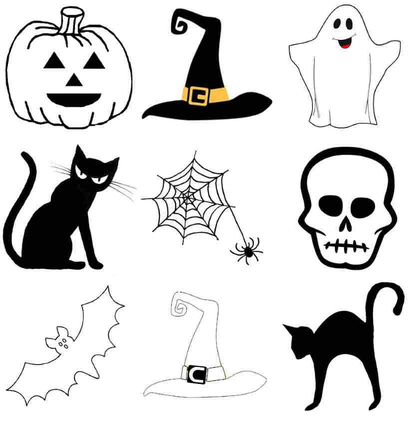 motifs de halloween