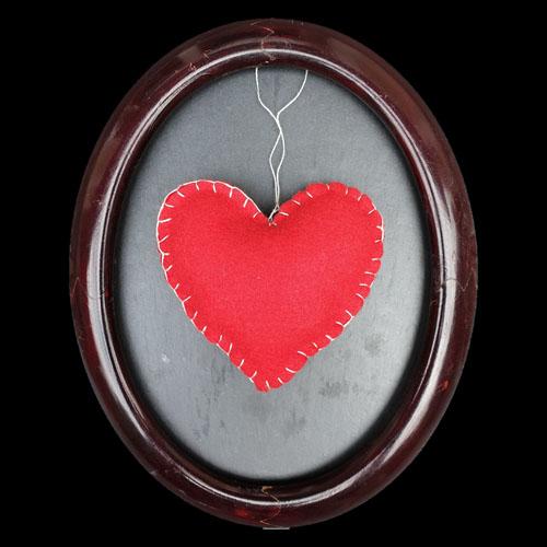 Cœur avec rembourrage